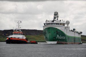 Noordstroom met Polarcus