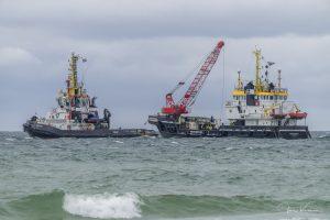 MULTRASHIP trekt vastgelopen viskotter SURSUM CORDA – UK 172 weer vlot  ( DEEL VI – 26.07.2020 )