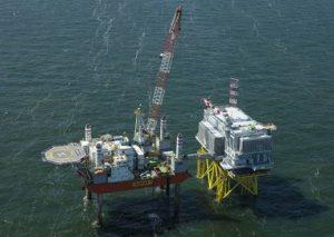 Jack Up rigmove Seafox 7 to Den Helder