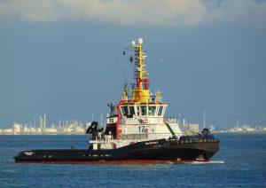 Multratug 17 & barge SM253