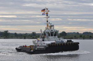 New Damen ASD Tug 2810 for Louis Meyer christened at Damen Shipyards Gorinchem