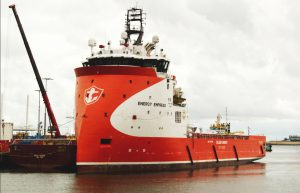 ENERGY EMPRESS AFGEMEERD IN DEN HELDER