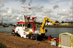 SEA JULIETT AFGEMEERD IN DEN HELDER