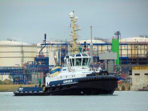 Ginger & VB Seine met Wagenborg Barge 9