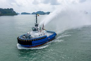 Damen delivering ASD Tug 2813 to Cititug in Ecuador