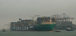 BOLUDA'S assisteren CMA CGM JACQUES SAADE