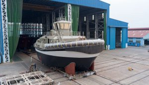 Port of Auckland's Damen RSD-E Tug 2513 launched in Vietnam
