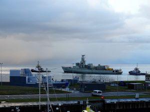 MULTRATUG 18 met fregat van Den Helder naar Vlissingen