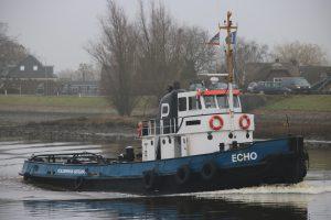 Echo op de Hollandsche IJssel