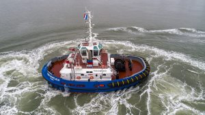 Damen delivers two RSD Tugs 2513 to TSM
