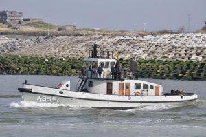MIER A 955 terug naar Zeebrugge