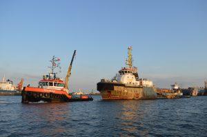 MTS Valiant & Hendrik 3 met Smit Angola, deel 2