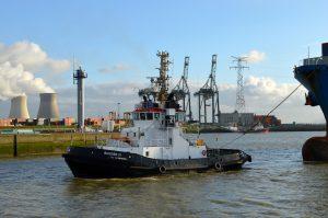 Bugsier 21 & Fairplay XIV met Niledutch Antwerpen
