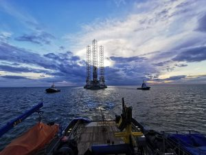 High spec drilling rig Borr Ran moved to Great Yarmouth