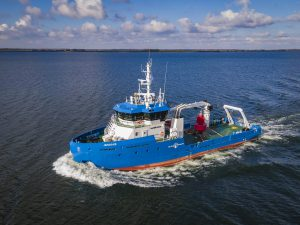 Port Authority of Jamaica's new Damen Utility Vessel 3911 arrives