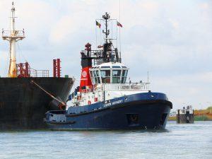 Lieven Gevaert & Union 5 met SFL Tyne