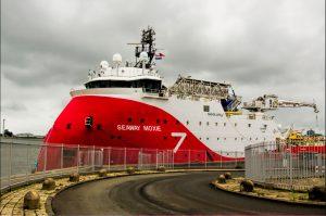 SEAWAY MOXIE AFGEMEERD IN DEN HELDER