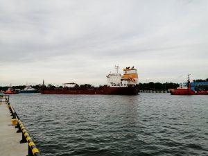 Tugspotters in Gdansk 01-09-2021