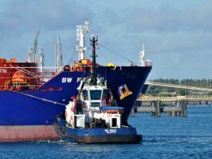 SD SEALen SD STINGRAY met tanker BW FALCON