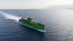 Damen's revolutionary FCS 7011 completes sea trials and heads to the Netherlands